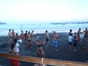 こちらは海でのファンレース、吉浜カップの開催です!